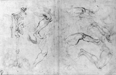 Desenhos para análise, Michelangelo II