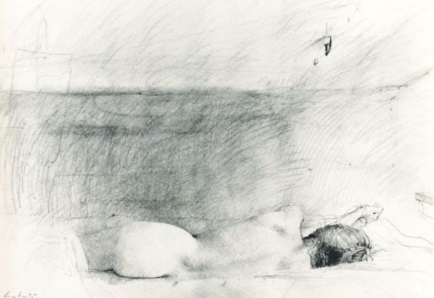 ANDREW WYETH, sketch for the painting