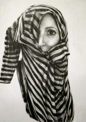 Gillian Lambert, Shirt, Graphite on Paper,  2011