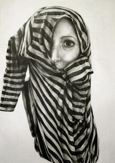 Gillian Lambert, Shirt, Graphite on Paper,  2011