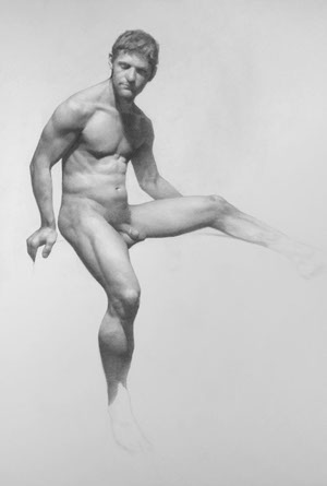 eiren by darren kingsley 18 x 24 graphite on paper