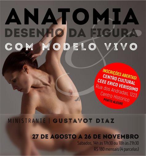 Anatomia e Figura Humana, Oficina semestral, 2016, II