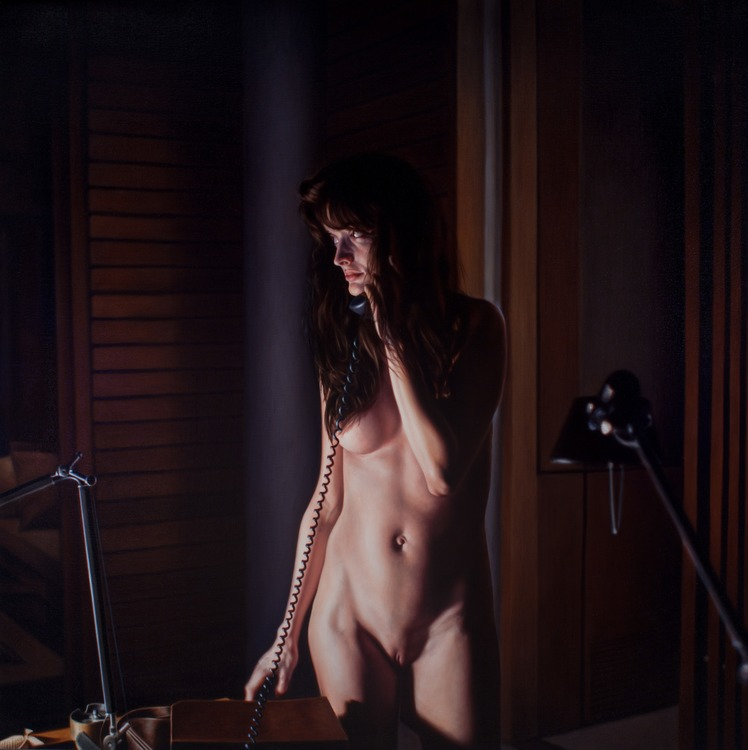 "DAMIAN LOEB, óleo sobre tela | ""The Sound of Music"""
