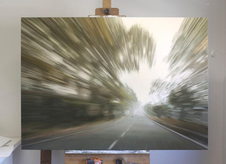 GREGORY THIELKER, óleo sobre tela