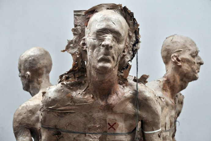 """GRZEGORZ GWIAZDA, """"Heretic"""" (bronze)"""