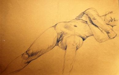 GUSTAVOT DIAZ (sketch a partir de modelo vivo) 2014