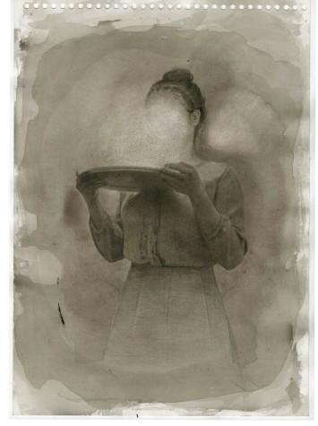 JOHN BARRIOS, nanquim sobre papel