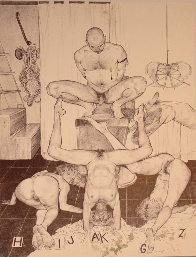 RICCARDO MANNELLI | técnica mista sobre papel